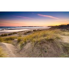 Sunsets over Newborough beach and Ynys Llanddwyn