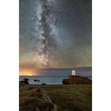 Milky Way over Llanddwyn Island
